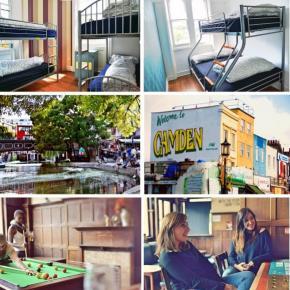 Hostellit - No Limit Hostel Camden @ The Lord Southampton