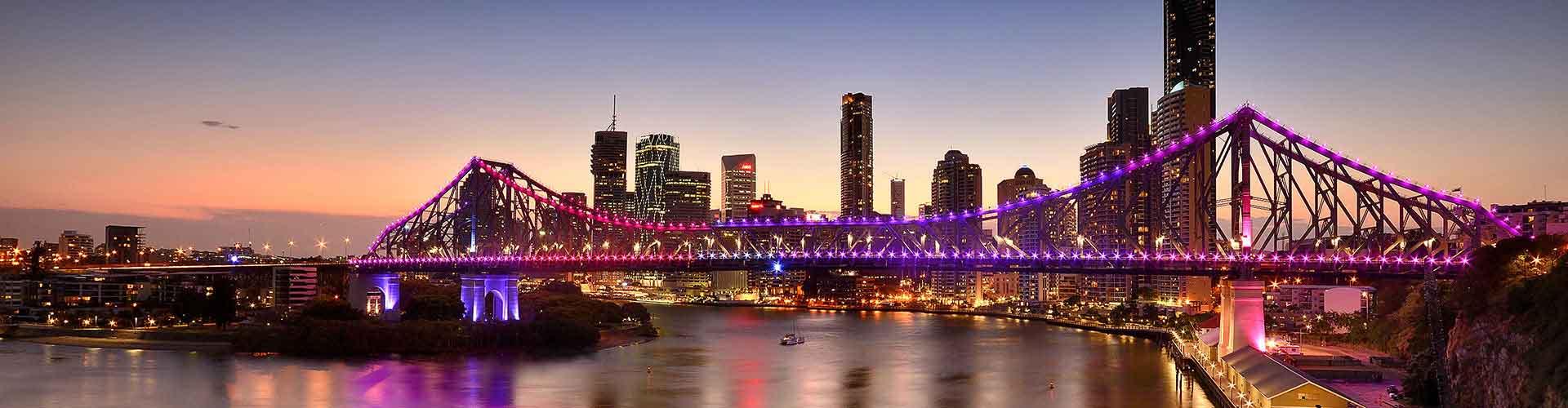 Brisbane – Hotellit kaupungiosassa Highgate Hill. Brisbane -karttoja, valokuvia ja arvosteluja kaikista Brisbane -hotelleista.