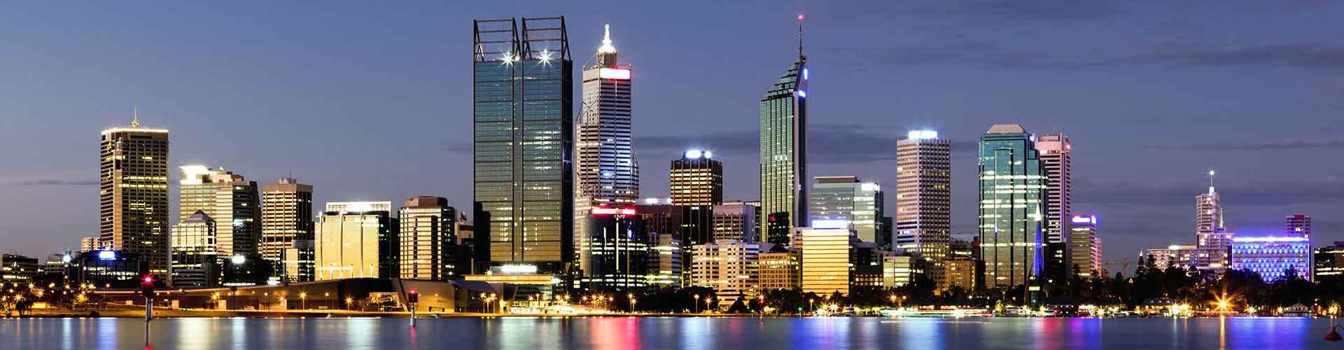 Perth – Huoneet kaupungiosassa Northbridge. Perth -karttoja, valokuvia ja arvosteluja kaikista Perth -huoneista.