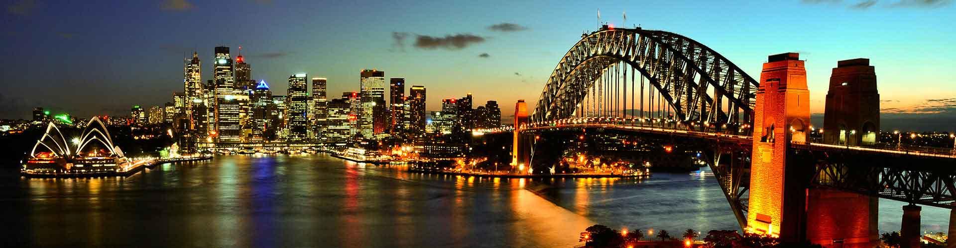 Sydney – Retkeily kaupungiosassa Woolloomooloo. Sydney -karttoja, valokuvia ja arvosteluja kaikista Sydney -retkeilyalueista.