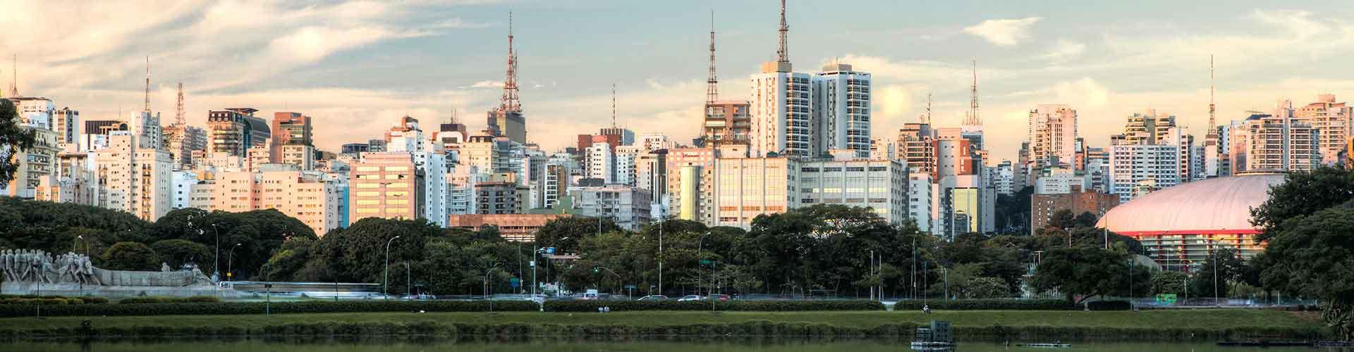 Sao Paulo – Hostellit lähellä maamerkkiä Congonhas-São Paulo lentokenttä. Sao Paulo -karttoja, valokuvia ja arvosteluja kaikista Sao Paulo -hostelleista.