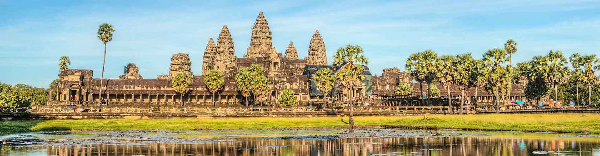Siem Reap – Student accommodations, hostels and coworking spaces in Siem Reap (Kambodza). Maps of Siem Reap, photos and reviews for each place in Siem Reap.