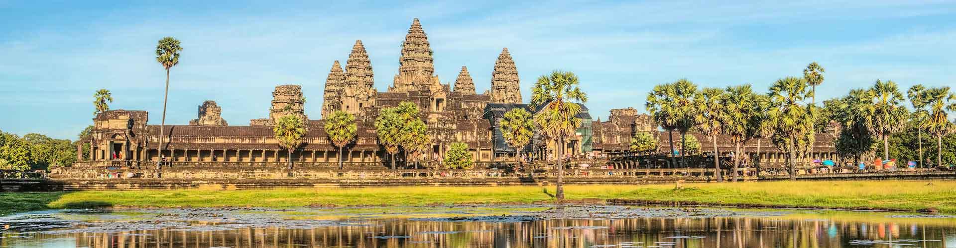 Siem Reap – Retkeily kohteessa Siem Reap. Siem Reap -karttoja, valokuvia ja arvosteluja kaikista Siem Reap -retkeilyalueista.