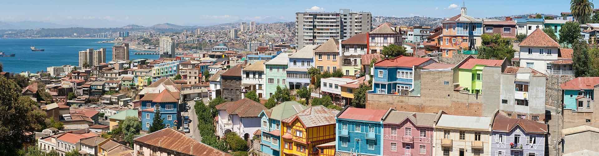 Valparaíso – Hostellit kohteessa Valparaíso. Valparaíso -karttoja, valokuvia ja arvosteluja kaikista Valparaíso -hostelleista.