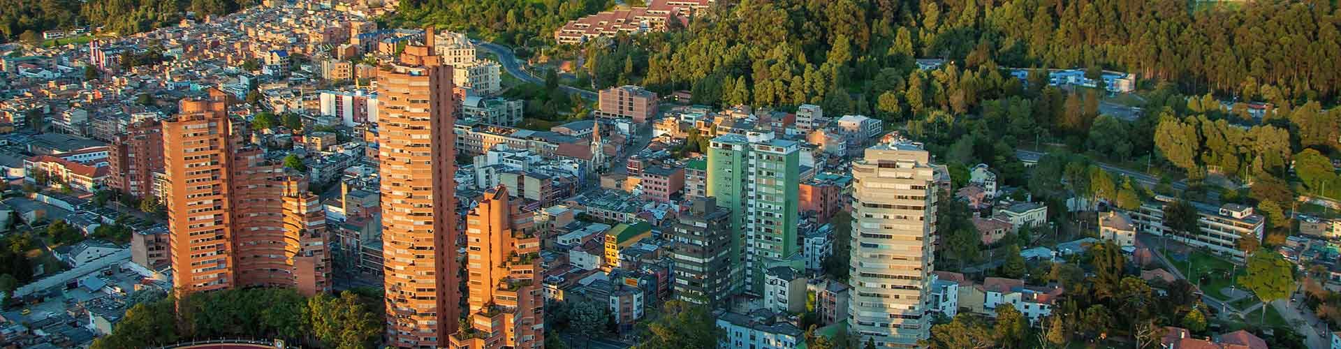 Bogota – Hostellit kohteessa Bogota. Bogota -karttoja, valokuvia ja arvosteluja kaikista Bogota -hostelleista.
