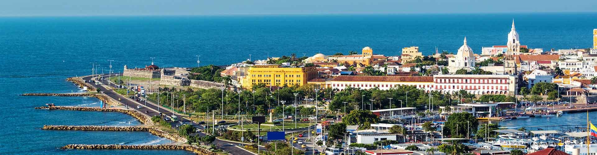 Cartagena de Indias – Hostellit kohteessa Cartagena de Indias. Cartagena de Indias -karttoja, valokuvia ja arvosteluja kaikista Cartagena de Indias -hostelleista.