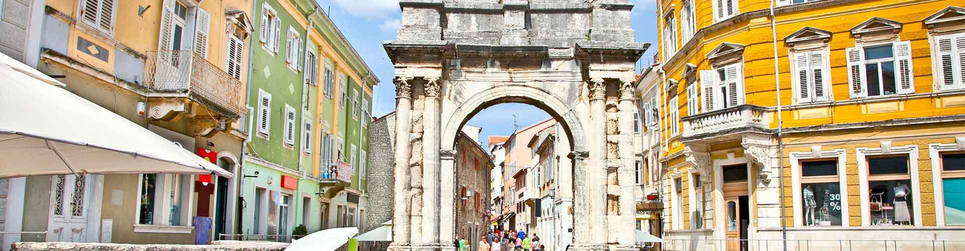 Pula – Student accommodations, hostels and coworking spaces in Pula (Kroatia). Maps of Pula, photos and reviews for each place in Pula.