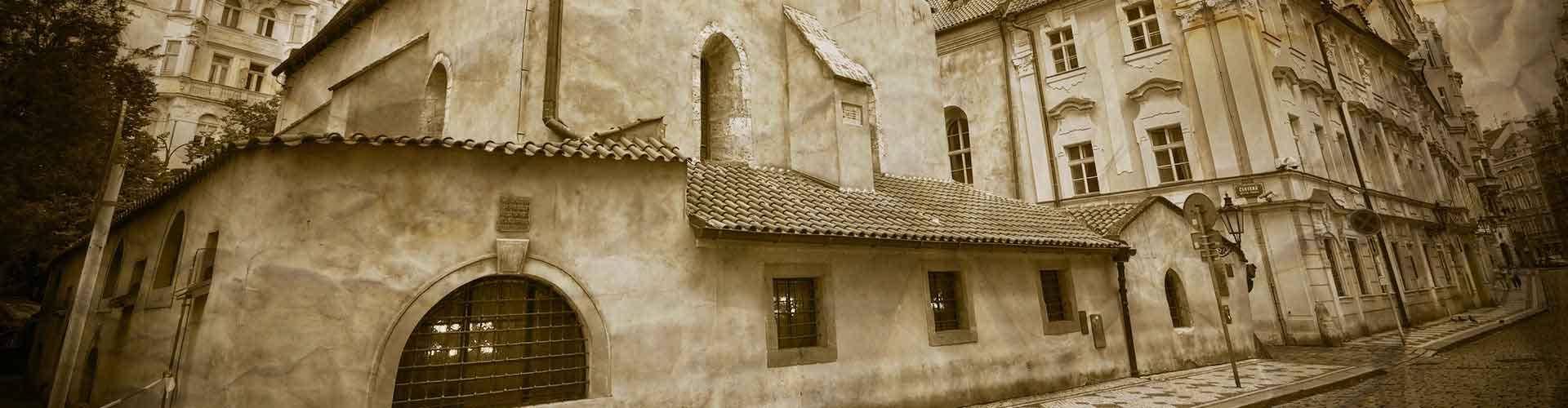 Praha – Hostellit lähellä Old New Synagogue. Praha -karttoja, valokuvia ja arvosteluja kaikista Praha -hostelleista.