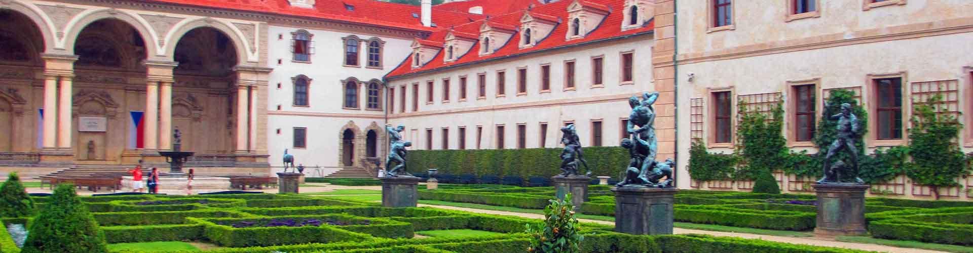Praha – Hostellit lähellä Wallenstein Palace. Praha -karttoja, valokuvia ja arvosteluja kaikista Praha -hostelleista.