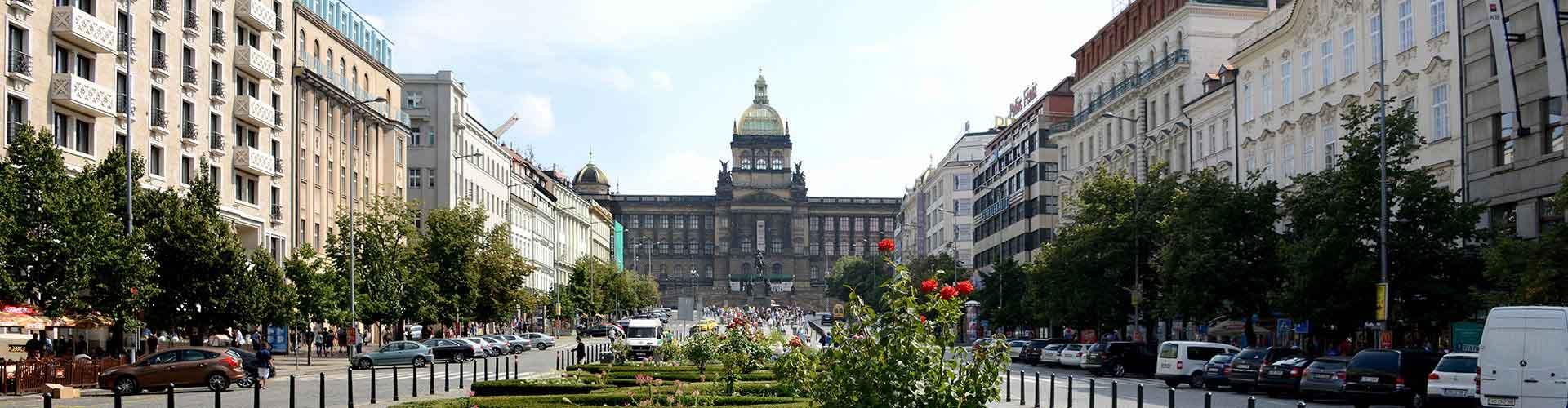 Praha – Hostellit lähellä Wenceslas Square. Praha -karttoja, valokuvia ja arvosteluja kaikista Praha -hostelleista.