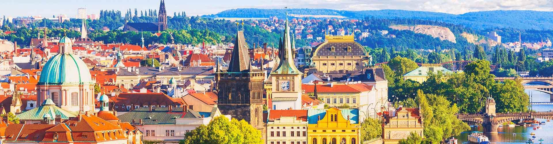 Praha – Hotellit kaupungiosassa Hloubetin. Praha -karttoja, valokuvia ja arvosteluja kaikista Praha -hotelleista.