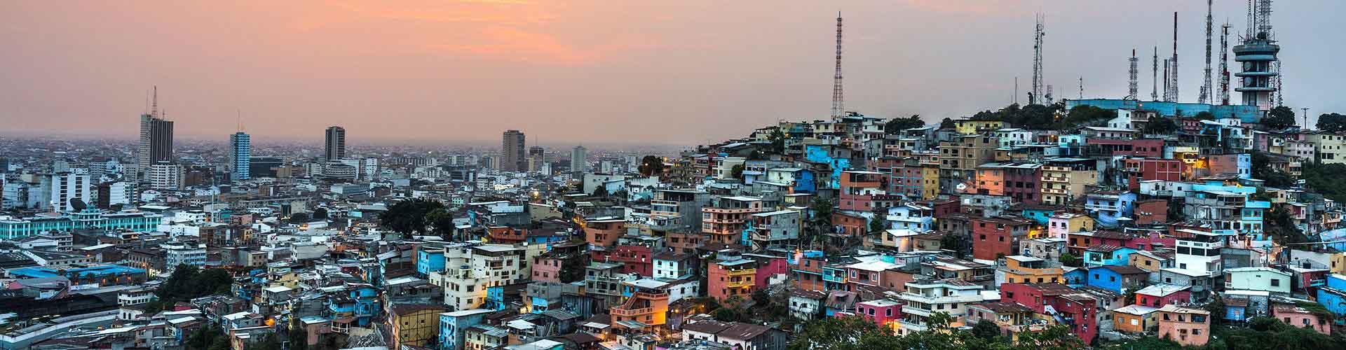 Guayaquil – Hostellit kohteessa Guayaquil. Guayaquil -karttoja, valokuvia ja arvosteluja kaikista Guayaquil -hostelleista.