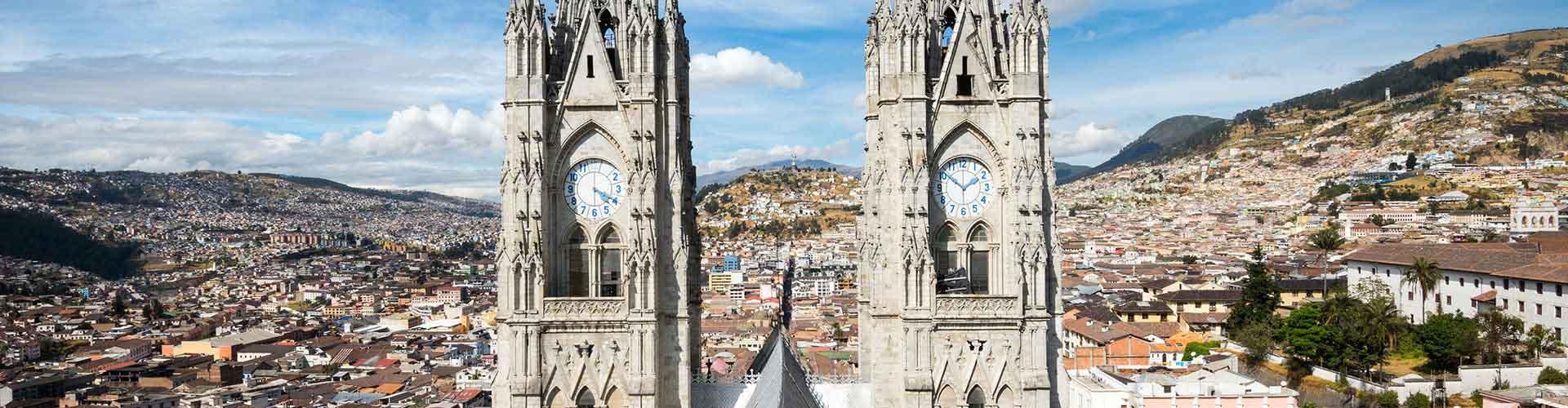Quito – Hostellit kohteessa Quito. Quito -karttoja, valokuvia ja arvosteluja kaikista Quito -hostelleista.