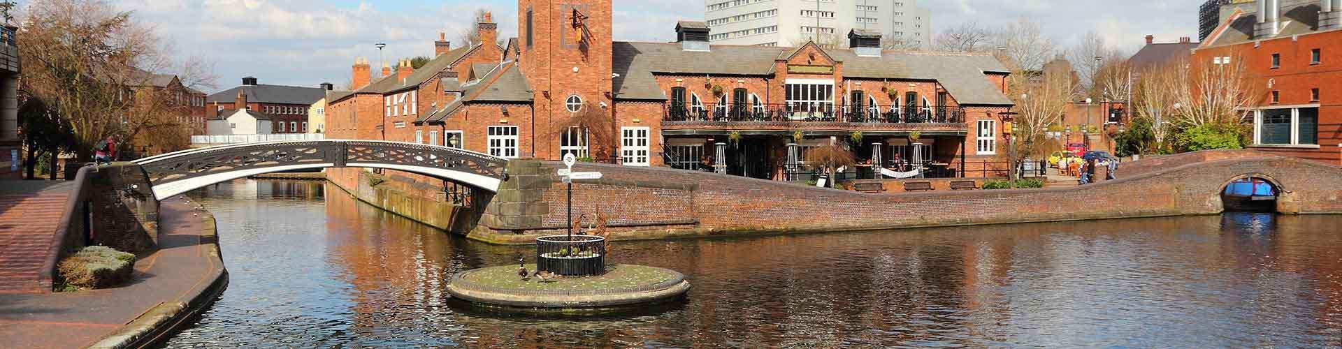 Birmingham – Hostellit kaupungiosassa Nechells. Birmingham -karttoja, valokuvia ja arvosteluja kaikista Birmingham -hostelleista.