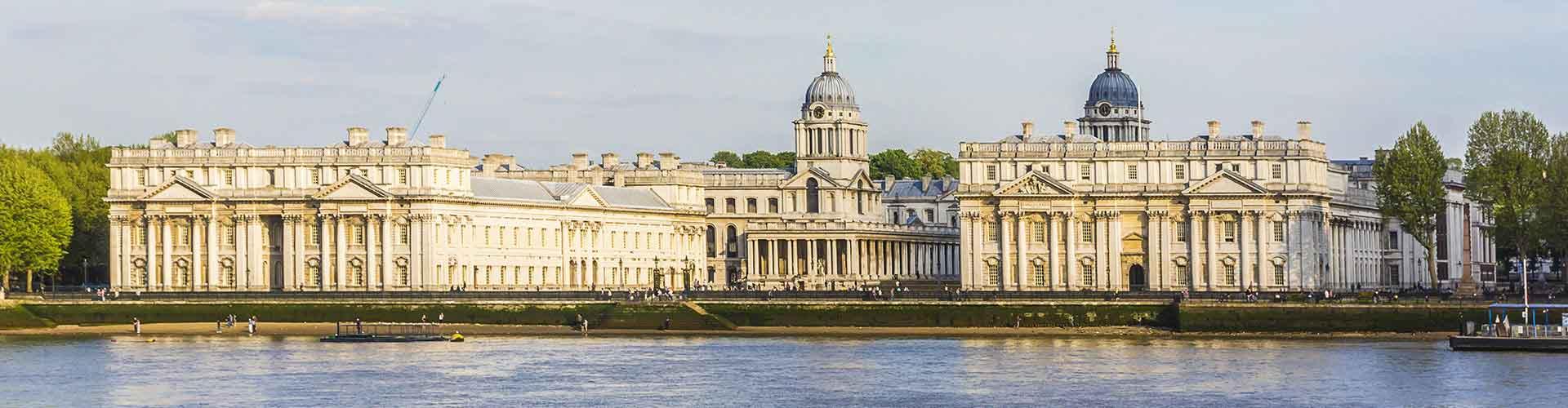 Lontoo – Hostellit kaupungiosassa Borough of Greenwich. Lontoo -karttoja, valokuvia ja arvosteluja kaikista Lontoo -hostelleista.