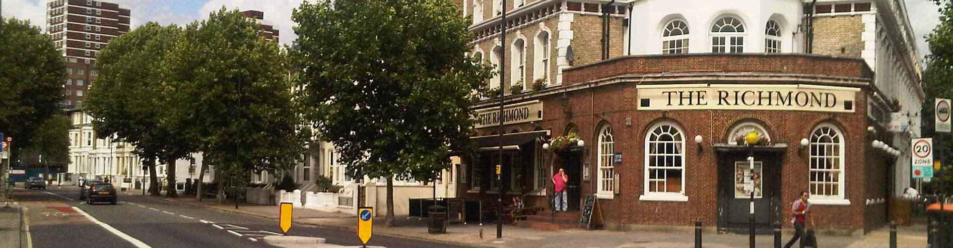 Lontoo – Hotellit kaupungiosassa Borough of Hammersmith and Fulham. Lontoo -karttoja, valokuvia ja arvosteluja kaikista Lontoo -hotelleista.