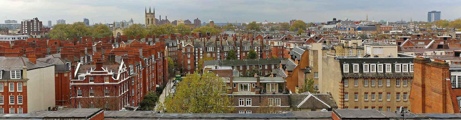 Lontoo – Retkeily kaupungiosassa Etelä-Kensington. Lontoo -karttoja, valokuvia ja arvosteluja kaikista Lontoo -retkeilyalueista.
