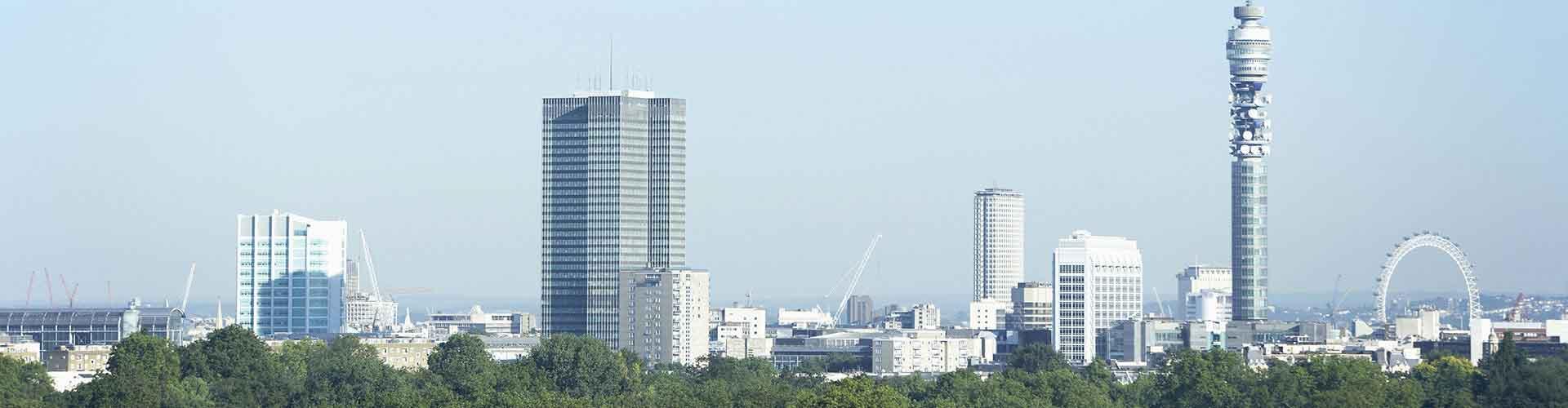 Lontoo – Hostellit lähellä Fitzrovia Telecom Tower. Lontoo -karttoja, valokuvia ja arvosteluja kaikista Lontoo -hostelleista.
