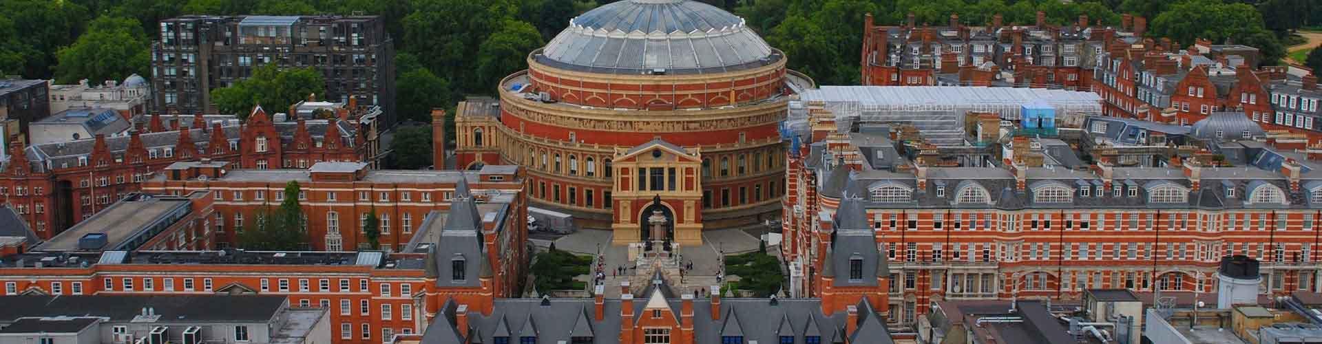 Lontoo – Hostellit lähellä Royal Albert Hall. Lontoo -karttoja, valokuvia ja arvosteluja kaikista Lontoo -hostelleista.