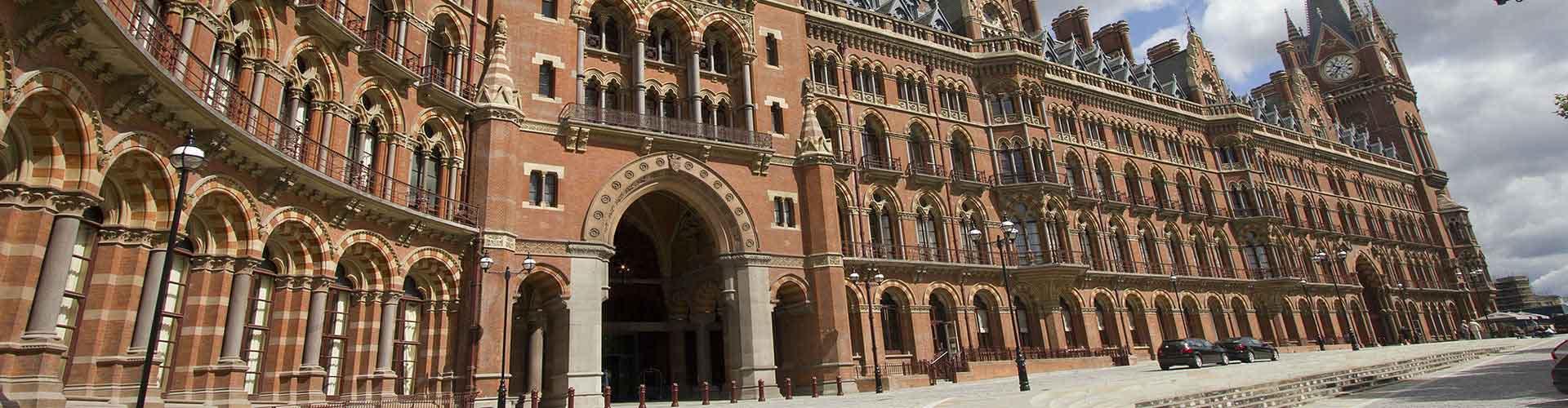 Lontoo – Hostellit lähellä St Pancras rautatieasema. Lontoo -karttoja, valokuvia ja arvosteluja kaikista Lontoo -hostelleista.