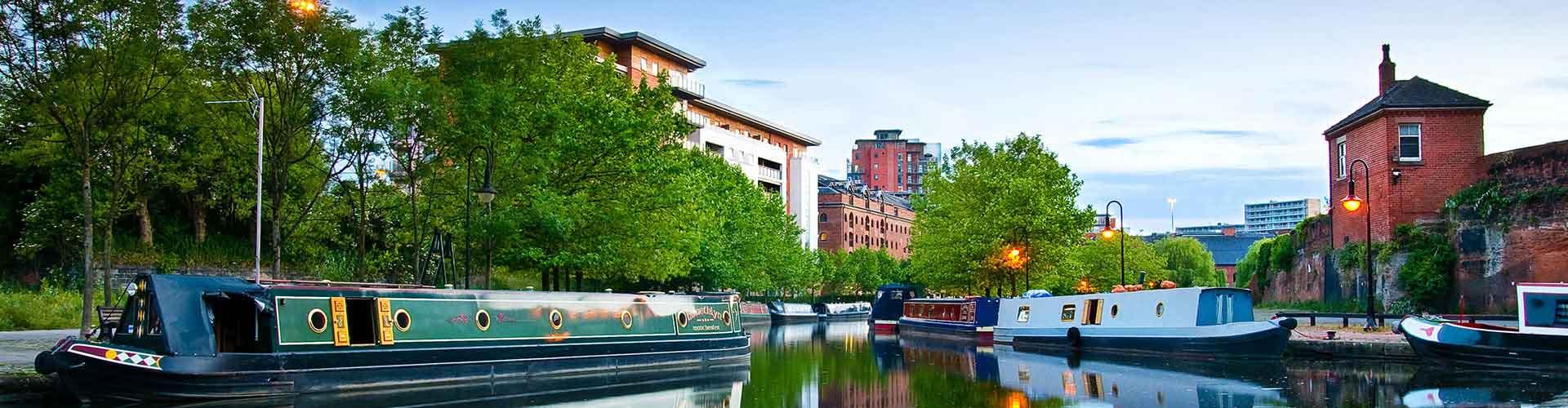 Manchester – Hotellit kaupungiosassa Ancoats. Manchester -karttoja, valokuvia ja arvosteluja kaikista Manchester -hotelleista.