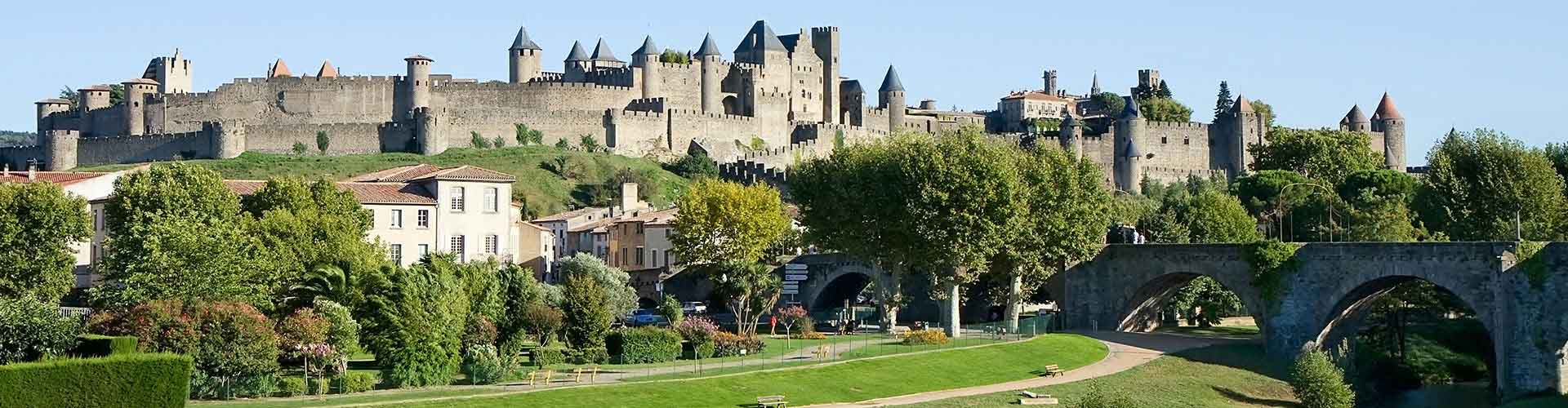 Carcassonne – Student accommodations, hostels and coworking spaces in Carcassonne (Ranska). Maps of Carcassonne, photos and reviews for each place in Carcassonne.