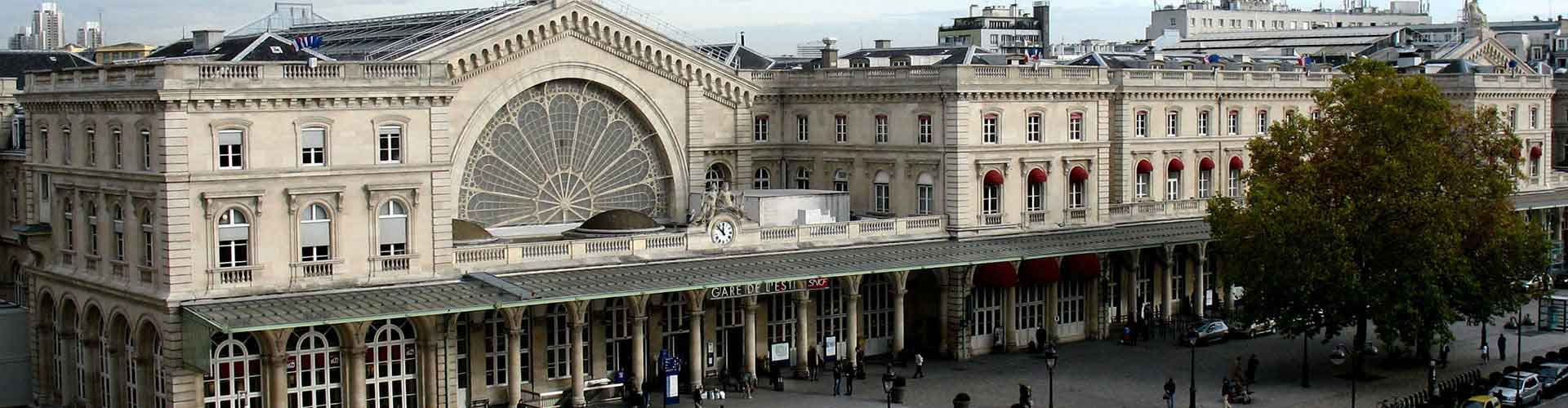 Pariisi – Hotellit kaupungiosassa Gare de l'Est. Pariisi -karttoja, valokuvia ja arvosteluja kaikista Pariisi -hotelleista.