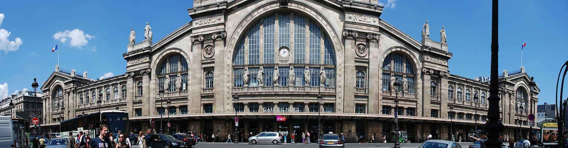 Pariisi – Hostellit kaupungiosassa North Station. Pariisi -karttoja, valokuvia ja arvosteluja kaikista Pariisi -hostelleista.