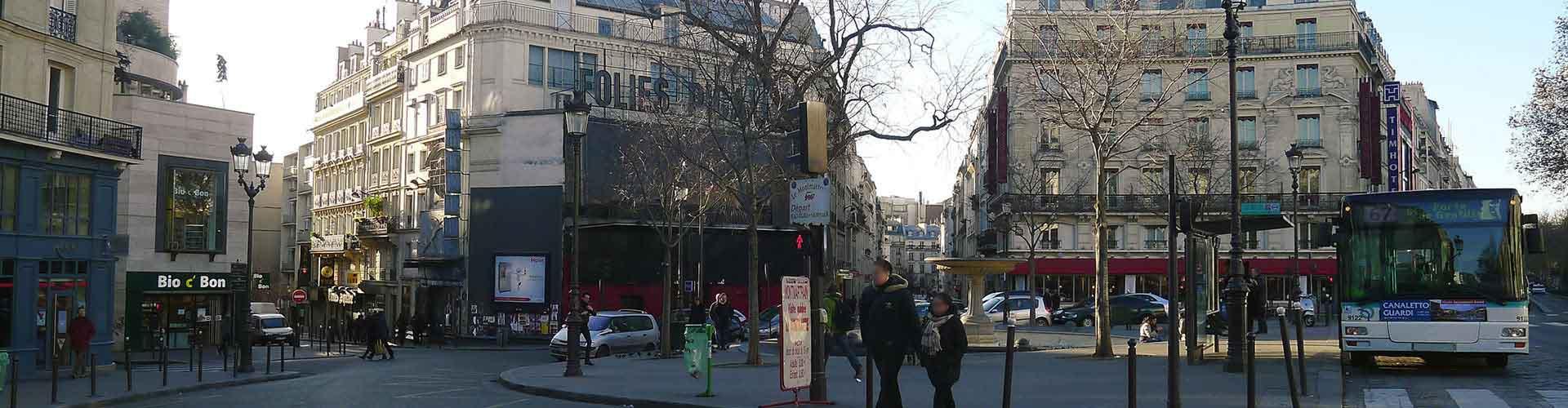 Pariisi – Hostellit kaupungiosassa Pigalle. Pariisi -karttoja, valokuvia ja arvosteluja kaikista Pariisi -hostelleista.
