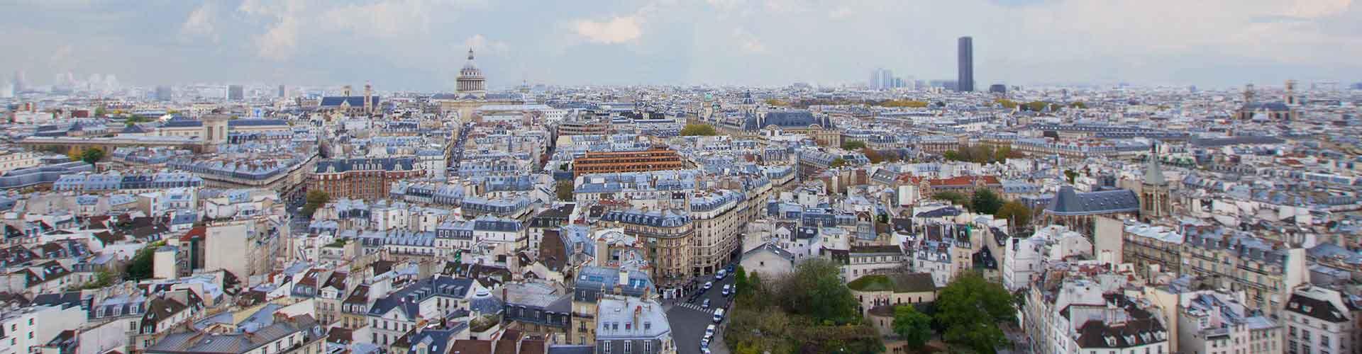 Pariisi – Hostellit kaupungiosassa Latin Quarter. Pariisi -karttoja, valokuvia ja arvosteluja kaikista Pariisi -hostelleista.