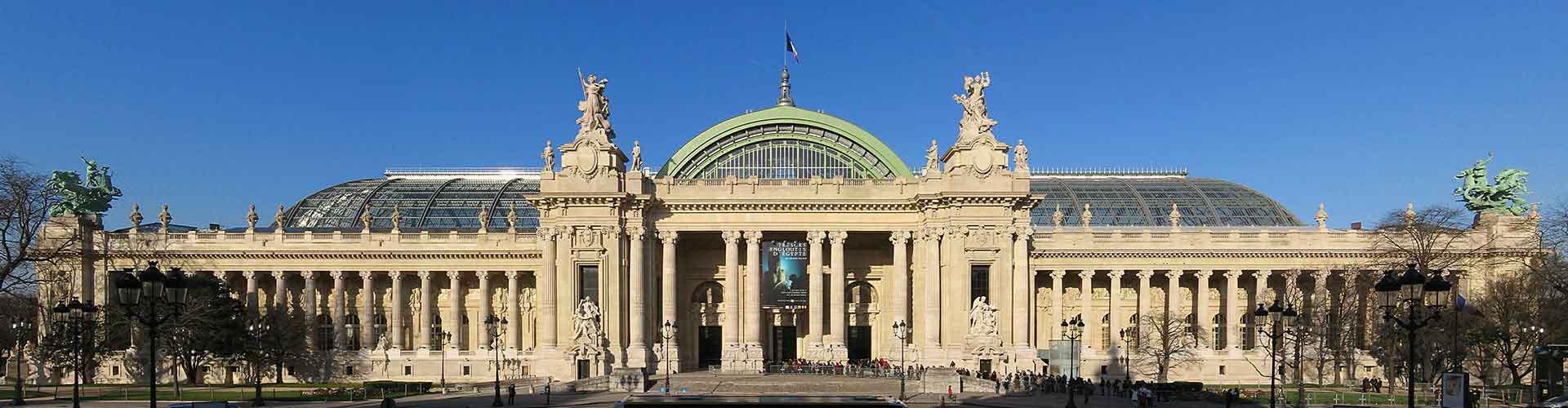Pariisi – Hostellit lähellä Grand Palais. Pariisi -karttoja, valokuvia ja arvosteluja kaikista Pariisi -hostelleista.
