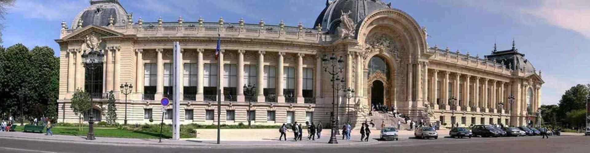 Pariisi – Hostellit lähellä Petit Palais. Pariisi -karttoja, valokuvia ja arvosteluja kaikista Pariisi -hostelleista.