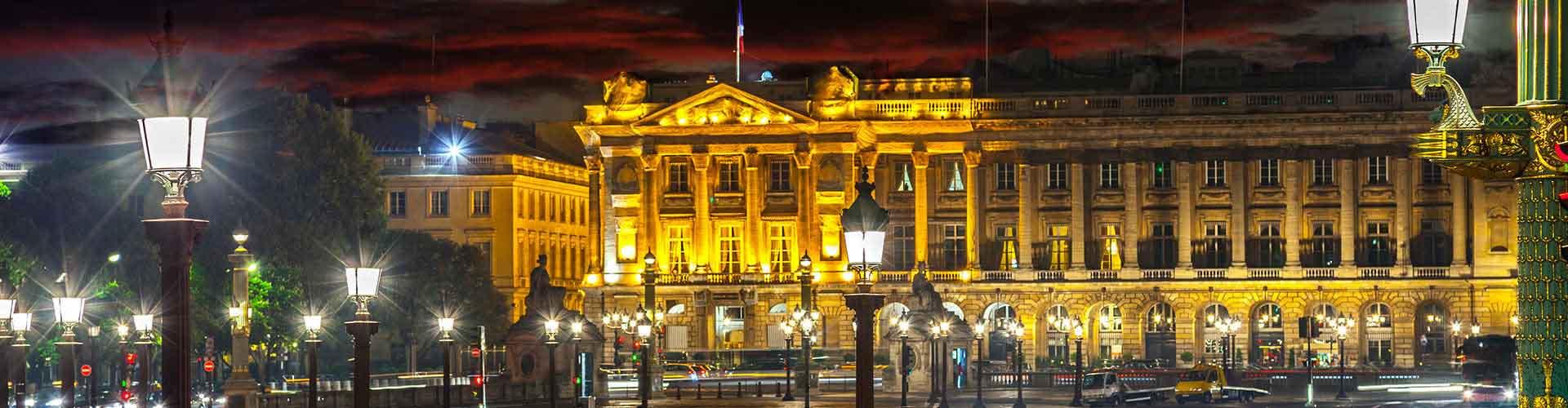 Pariisi – Hostellit lähellä Place de la Concorde. Pariisi -karttoja, valokuvia ja arvosteluja kaikista Pariisi -hostelleista.