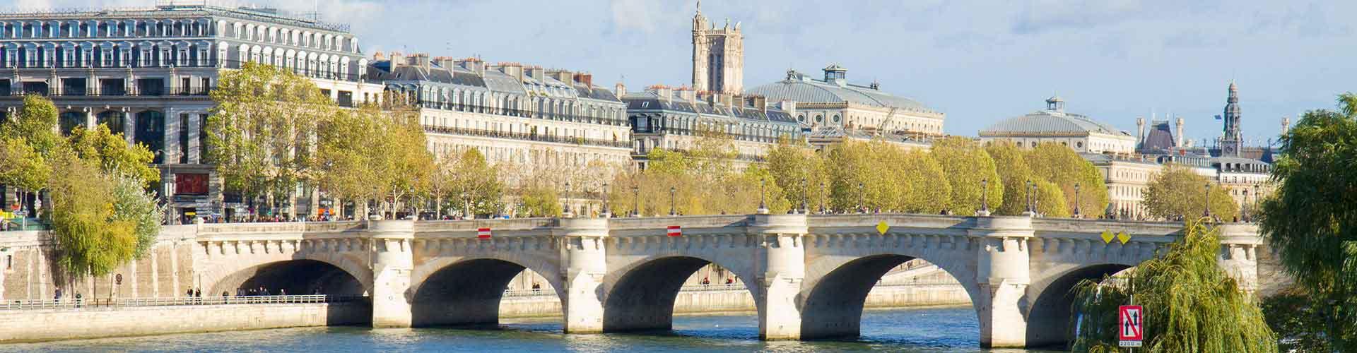 Pariisi – Hostellit lähellä Pont Neuf. Pariisi -karttoja, valokuvia ja arvosteluja kaikista Pariisi -hostelleista.