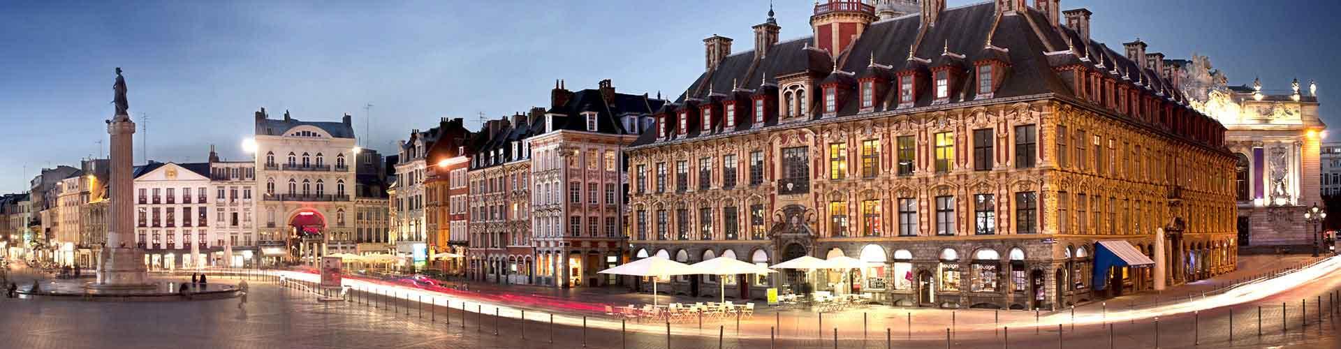 Lille – Hostellit kohteessa Lille. Lille -karttoja, valokuvia ja arvosteluja kaikista Lille -hostelleista.