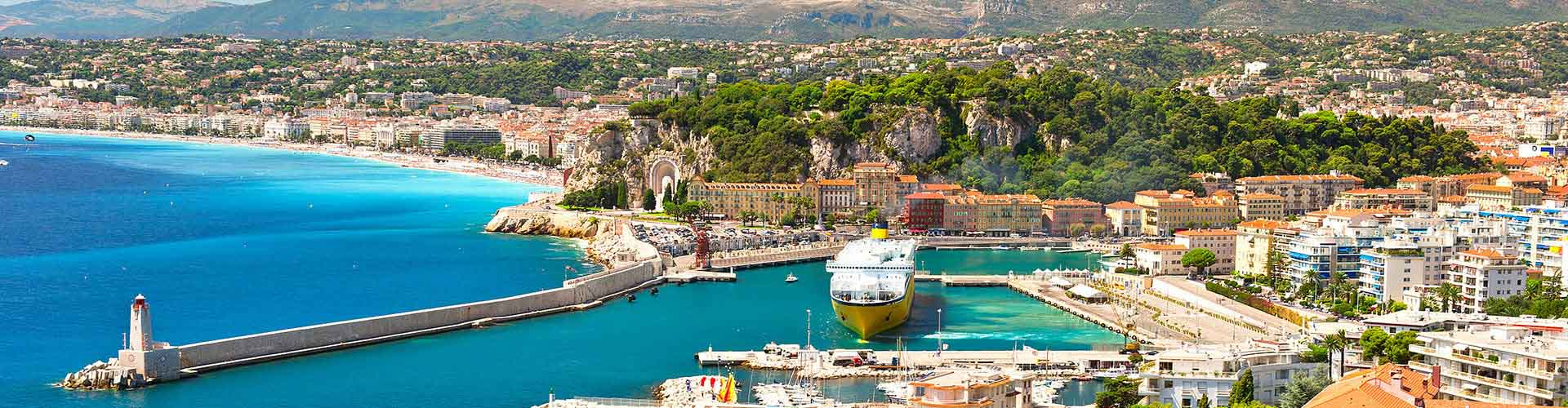 Nizza – Hotellit kaupungiosassa Eteläinen vanhakaupunki. Nizza -karttoja, valokuvia ja arvosteluja kaikista Nizza -hotelleista.