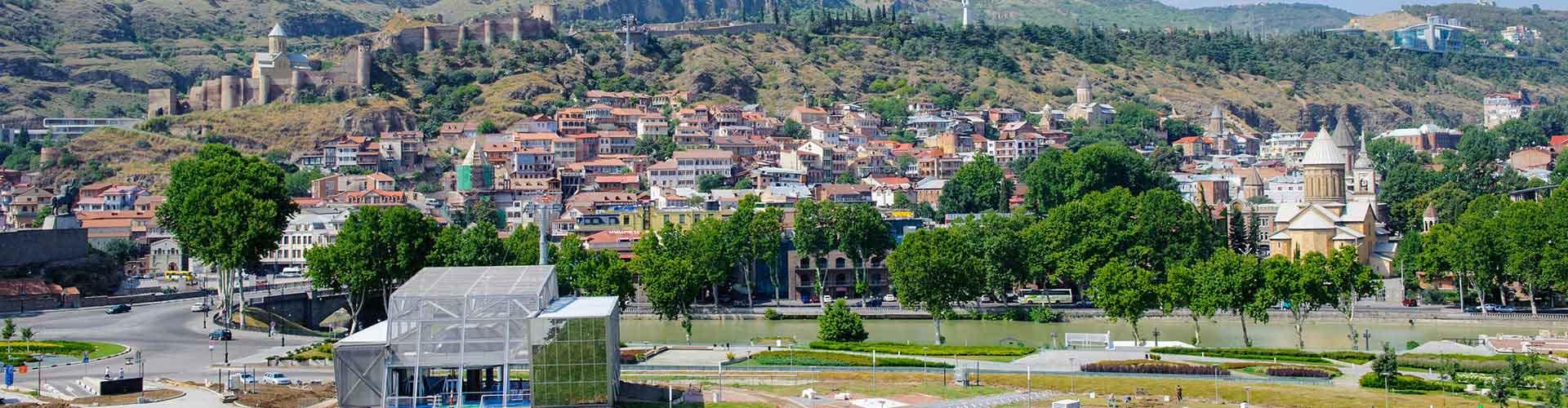 Tbilisi – Hostellit kohteessa Tbilisi. Tbilisi -karttoja, valokuvia ja arvosteluja kaikista Tbilisi -hostelleista.