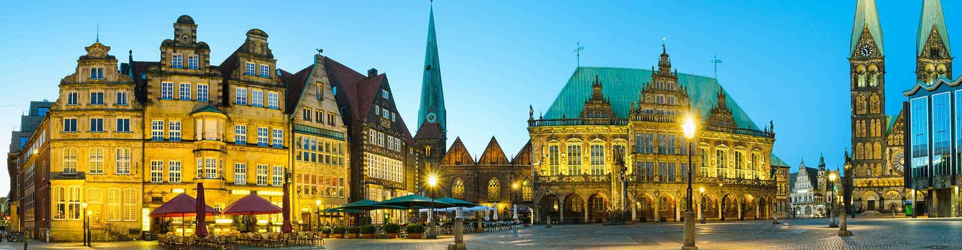 Bremen – Hostellit kaupungiosassa Bremen-Länsi. Bremen -karttoja, valokuvia ja arvosteluja kaikista Bremen -hostelleista.