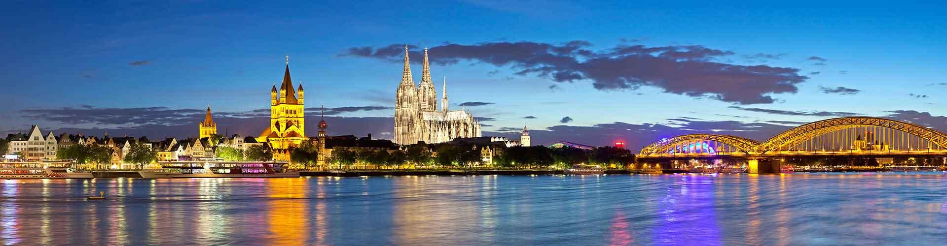 Köln – Hostellit kohteessa Köln. Köln -karttoja, valokuvia ja arvosteluja kaikista Köln -hostelleista.