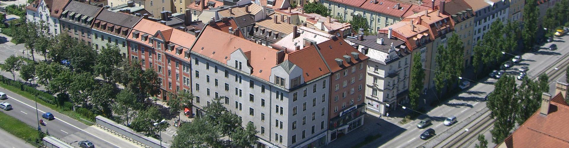 München – Hostellit kaupungiosassa Westend. München -karttoja, valokuvia ja arvosteluja kaikista München -hostelleista.