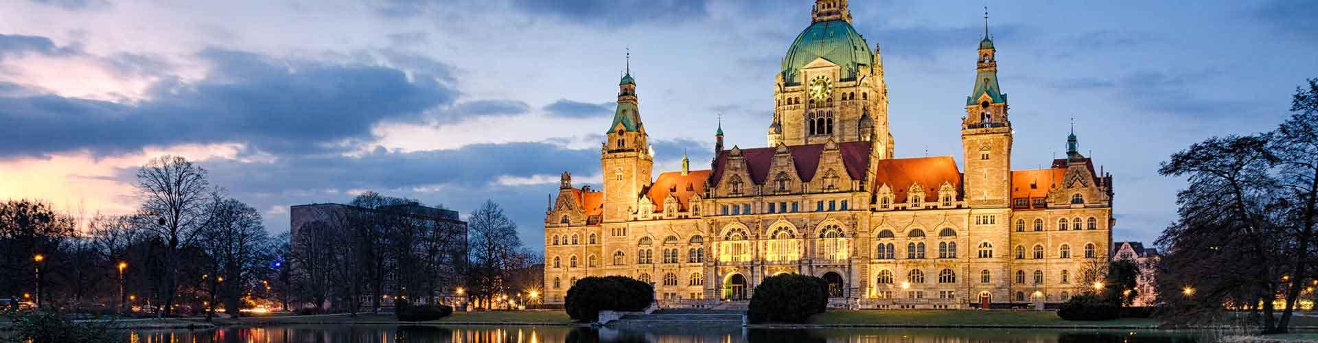 Hannover – Hostellit kaupungiosassa Oststadt. Hannover -karttoja, valokuvia ja arvosteluja kaikista Hannover -hostelleista.