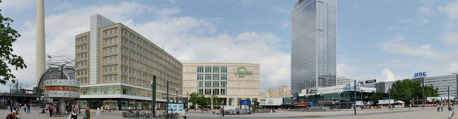 Berlin – Hostellit lähellä Alexanderplatz. Berlin -karttoja, valokuvia ja arvosteluja kaikista Berlin -hostelleista.