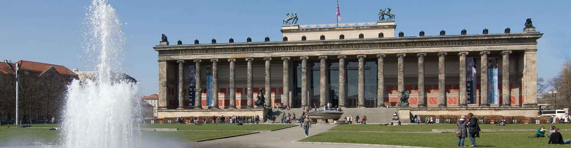 Berlin – Hostellit lähellä Altes Museum ja Pergamon-museo. Berlin -karttoja, valokuvia ja arvosteluja kaikista Berlin -hostelleista.