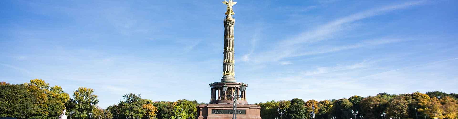 Berlin – Hostellit lähellä Berlin Victory Column. Berlin -karttoja, valokuvia ja arvosteluja kaikista Berlin -hostelleista.