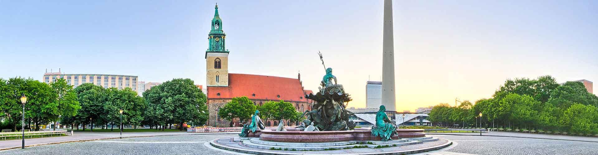 Berlin – Hostellit lähellä Fernsehturm. Berlin -karttoja, valokuvia ja arvosteluja kaikista Berlin -hostelleista.