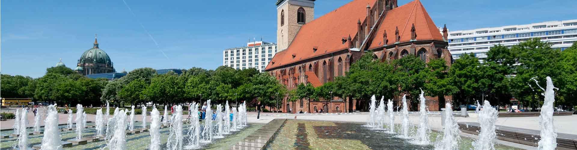 Berlin – Hostellit lähellä Marienkirche. Berlin -karttoja, valokuvia ja arvosteluja kaikista Berlin -hostelleista.