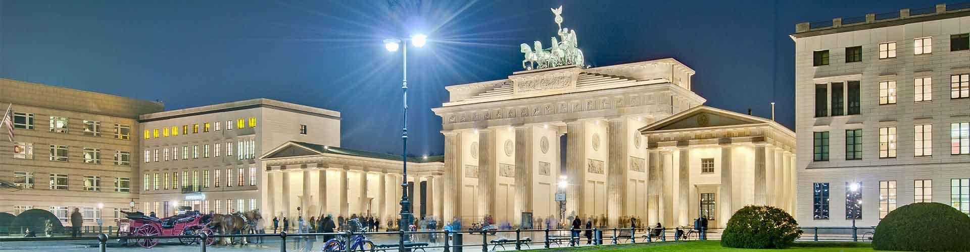 Berlin – Hostellit lähellä Pariser Platz. Berlin -karttoja, valokuvia ja arvosteluja kaikista Berlin -hostelleista.