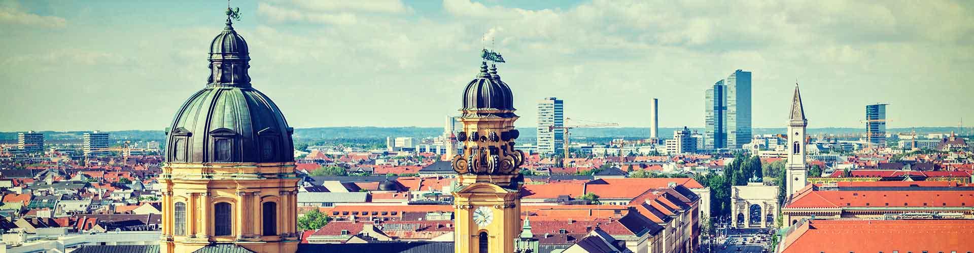 München – Hotellit kaupungiosassa Ludwigsvorstadt-Kliniken. München -karttoja, valokuvia ja arvosteluja kaikista München -hotelleista.