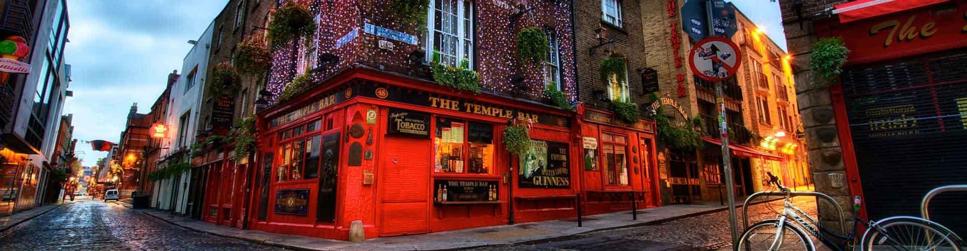 Dublin – Hostellit kaupungiosassa Temple Bar. Dublin -karttoja, valokuvia ja arvosteluja kaikista Dublin -hostelleista.