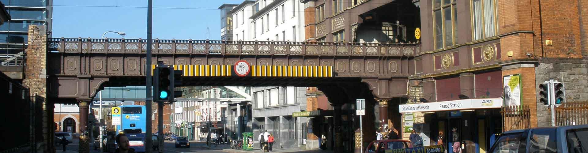 Dublin – Hostellit lähellä Dublin Pearse rautatieasema. Dublin -karttoja, valokuvia ja arvosteluja kaikista Dublin -hostelleista.